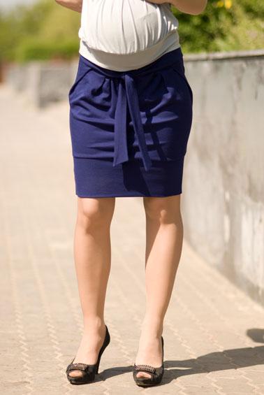 джинсовая свадебная юбка.