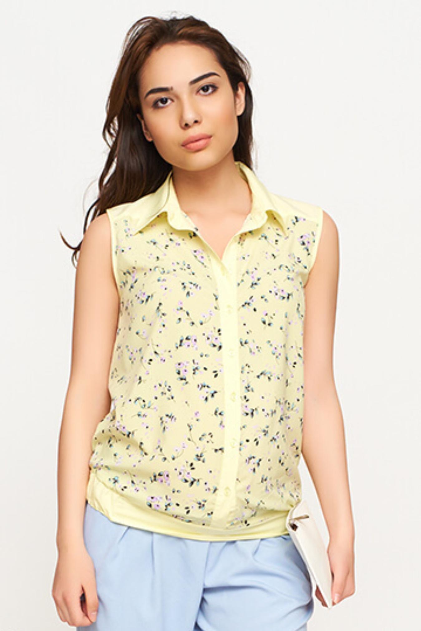 Лимонная блузка в москве