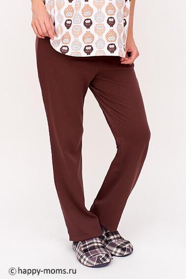 Коричневые брюки с доставкой