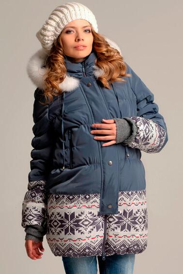 Зимнее пальто для беременных   мод. 88039   в интернет-магазине Happy -Moms.ru fb35caac9b236