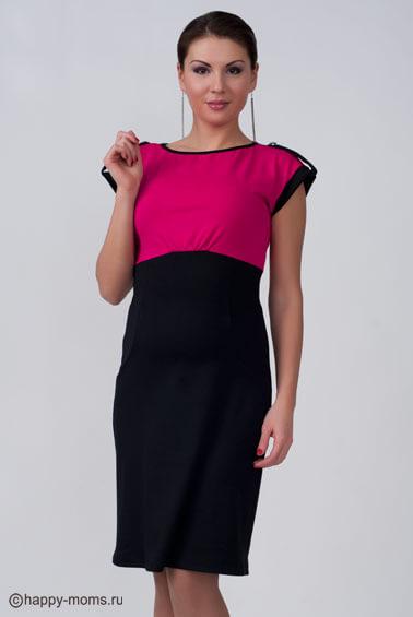 Платье для беременных в стиле Колор блок интернет магазин Happy-Moms.ru 85fd9fe8f7b