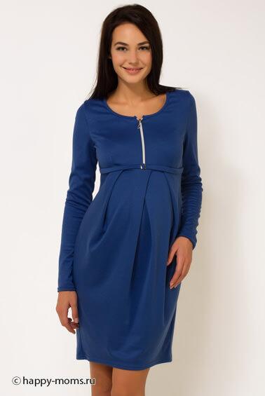 Складки на платье для беременных