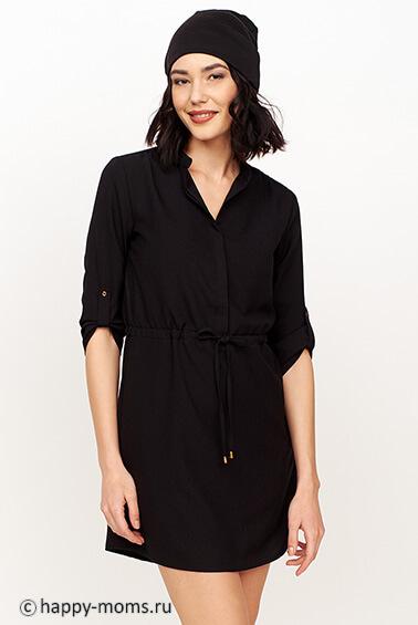 Черное платье для беременных купить