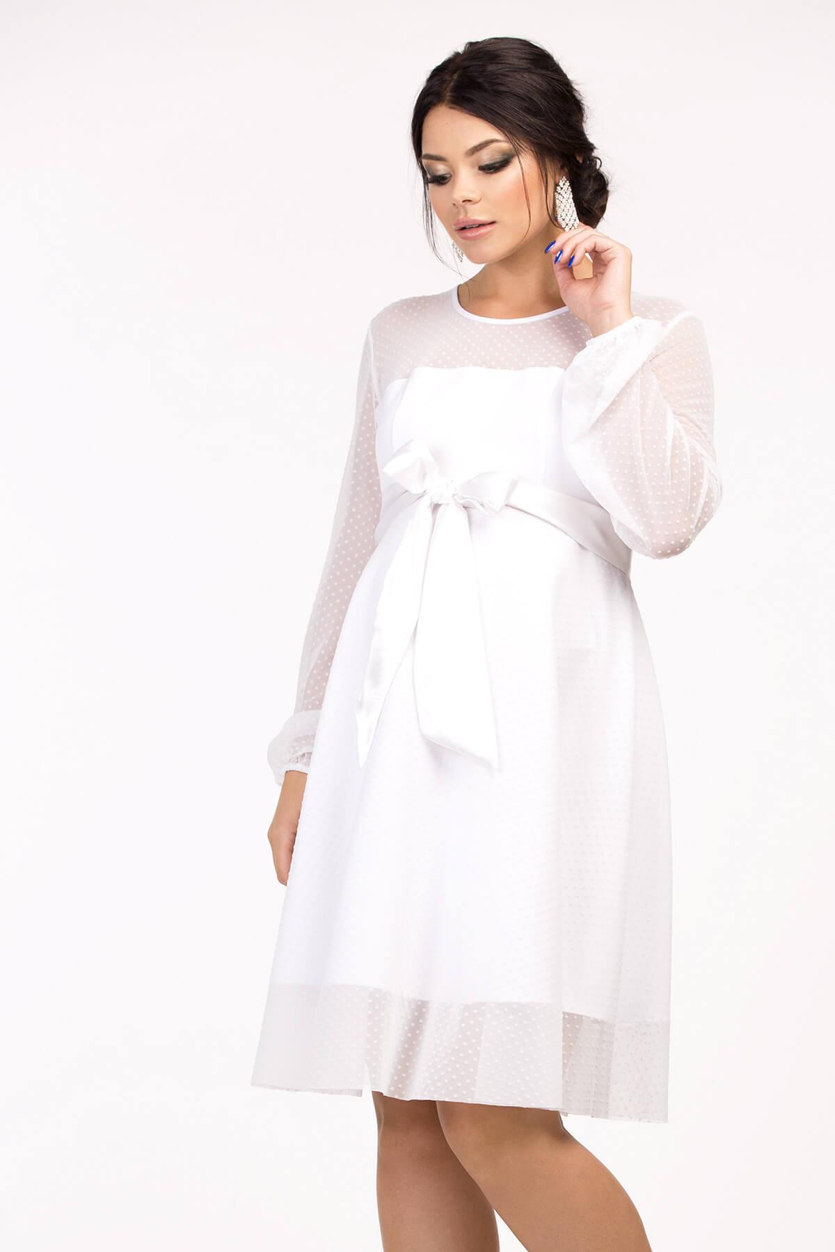 23101f8449f1 Пышное свадебное платье для беременных Happy-Moms.ru
