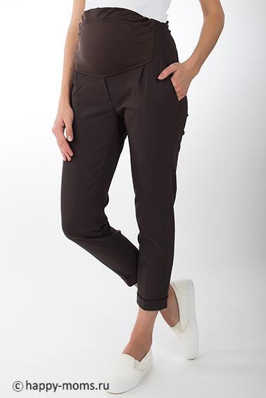 eb5b58e4c02a268 Укороченные брюки-чинос для беременных Happy Moms