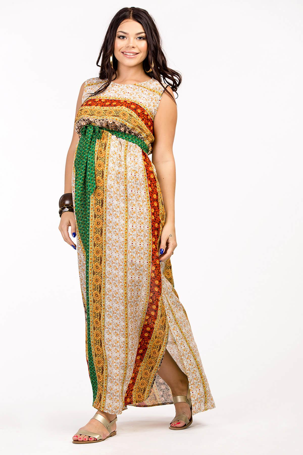 071814ddae4c1ef Платье для беременных в пол на лето Happy-Moms.ru