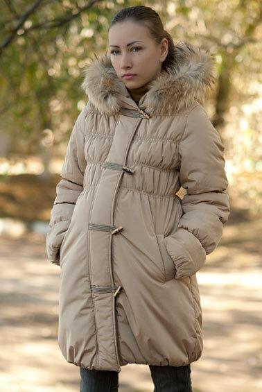 Пальто зимнее для будущих мам 88010 купить в интернет магазине Happy Moms a305dddb84b34