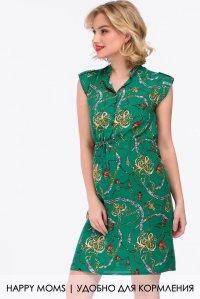 d3e646ab95a Зеленое платье для будущих и кормящих мам купить интернет магазин