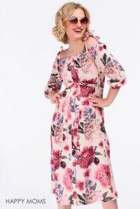 257a33339bf Платье с цветочным рисунком для будущих и кормящих мам купить интернет- магазин